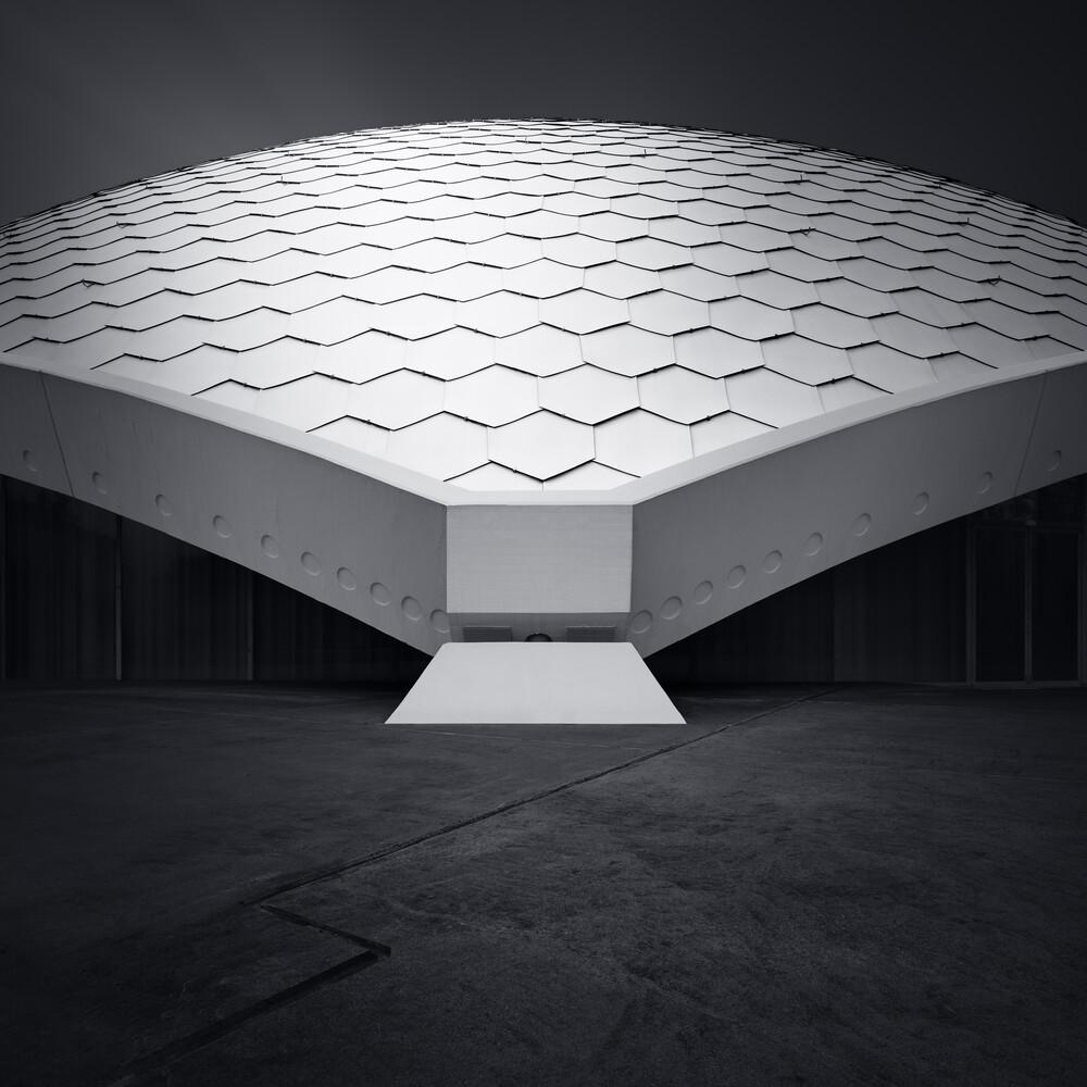 Silent concert  Frankfurt - fotokunst von Richard Grando