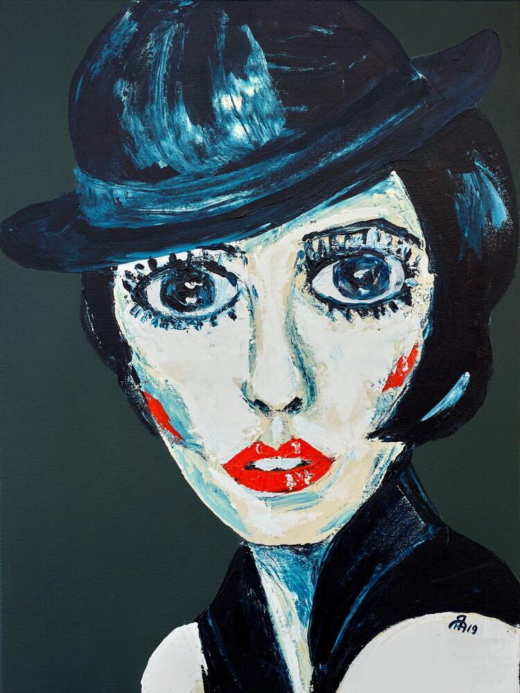 Liza Minnelli - fotokunst von Diego Muinegi & Yana Gubinskaya