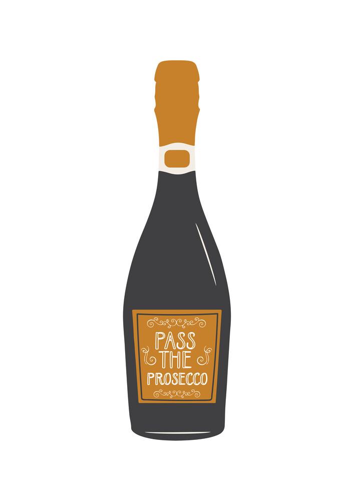 Pass The Prosecco - fotokunst von Frankie Kerr-Dineen