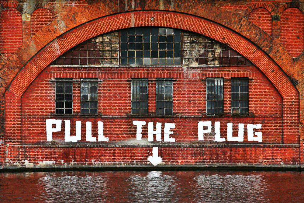 Pull The Plug - fotokunst von Aurica Voss