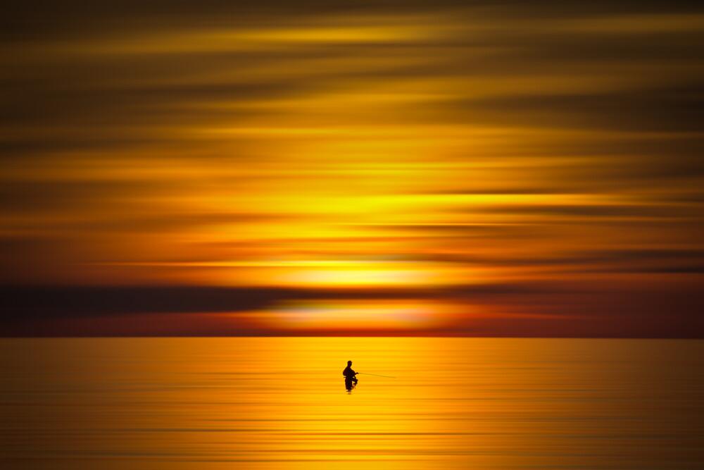 Angler - fotokunst von Björn Witt