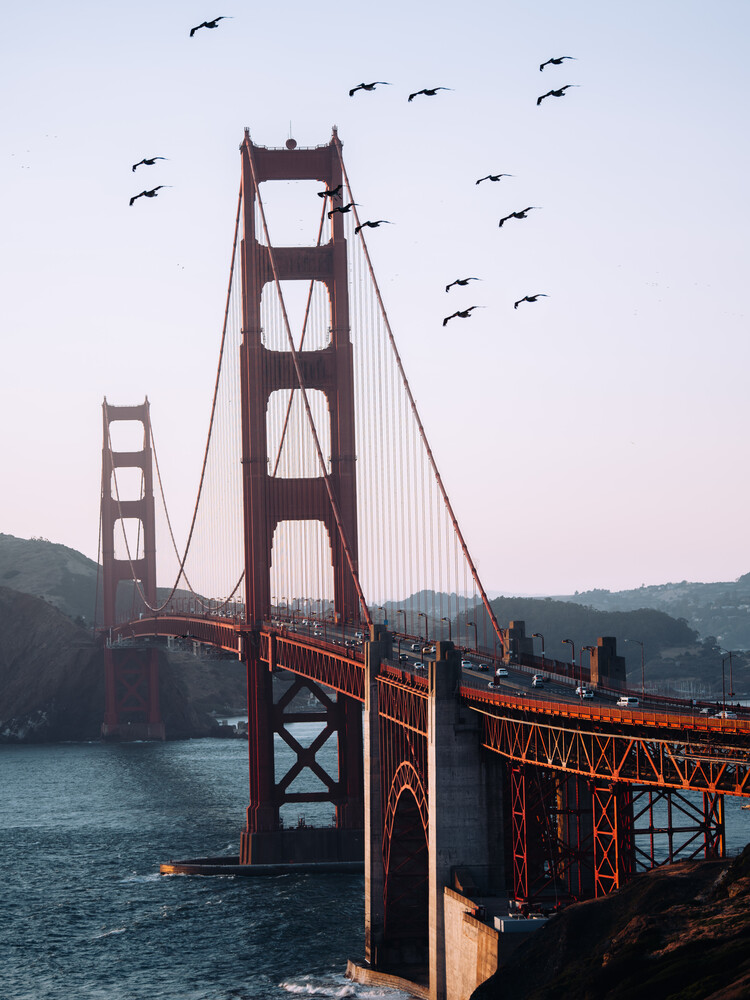 Golden Gate Bridge - Fineart photography by André Alexander