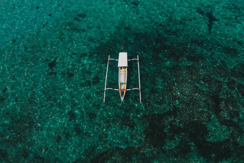Fischerboot - fotokunst von Jonas Hafner