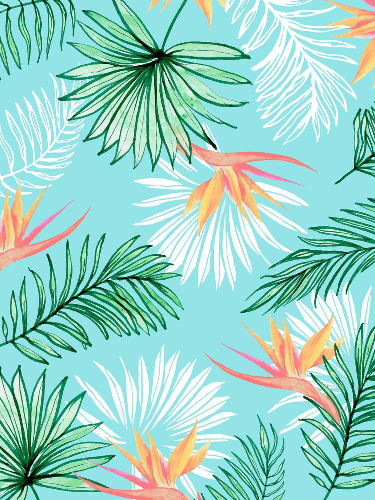 Tropic Palm - fotokunst von Uma Gokhale