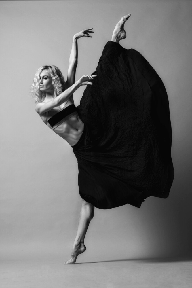 Dance Kick - Fineart photography by Klaus Wegele