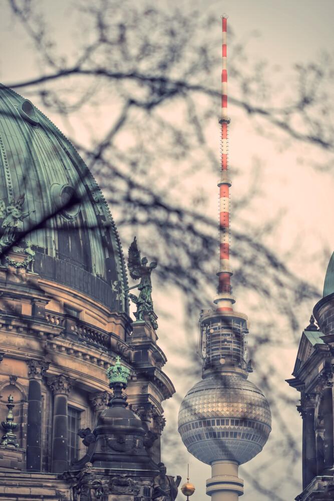 Berlin-Mitte - fotokunst von Holger Nimtz