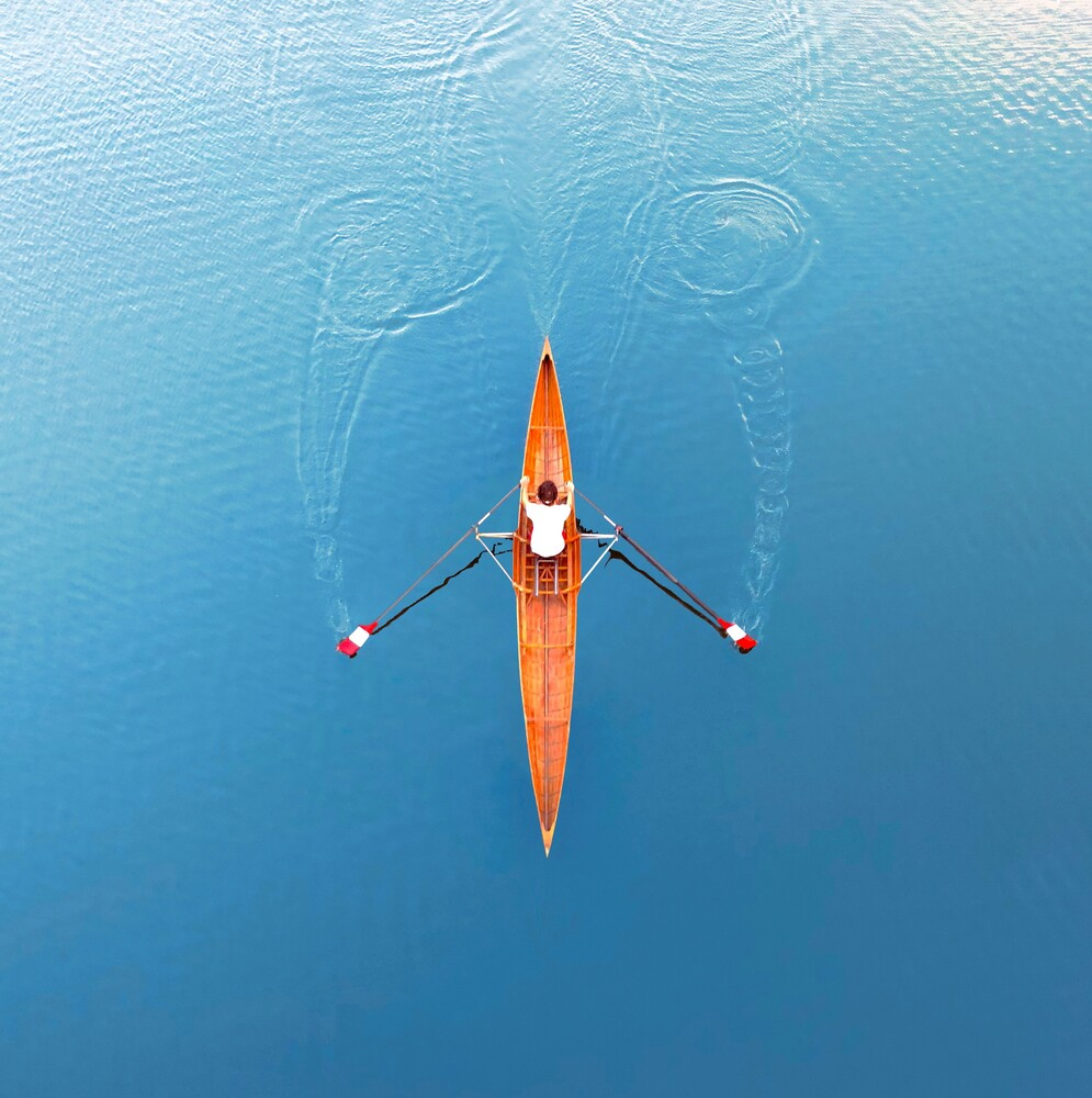 Rowing - Fineart photography by Kirill Voronkov