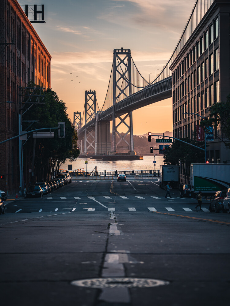 golden hour SF - Fineart photography by Dimitri Luft