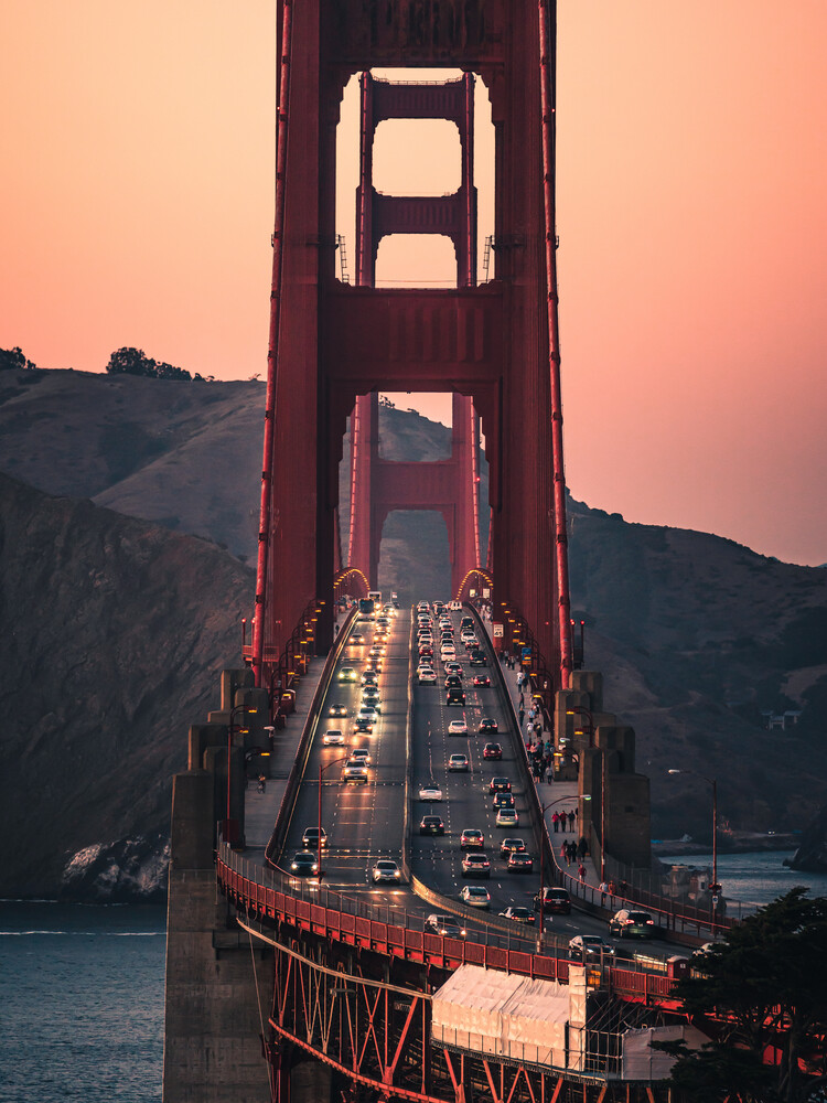 Golden Gate - Fineart photography by Dimitri Luft