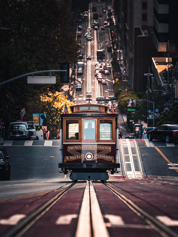 cable car II - fotokunst von Dimitri Luft