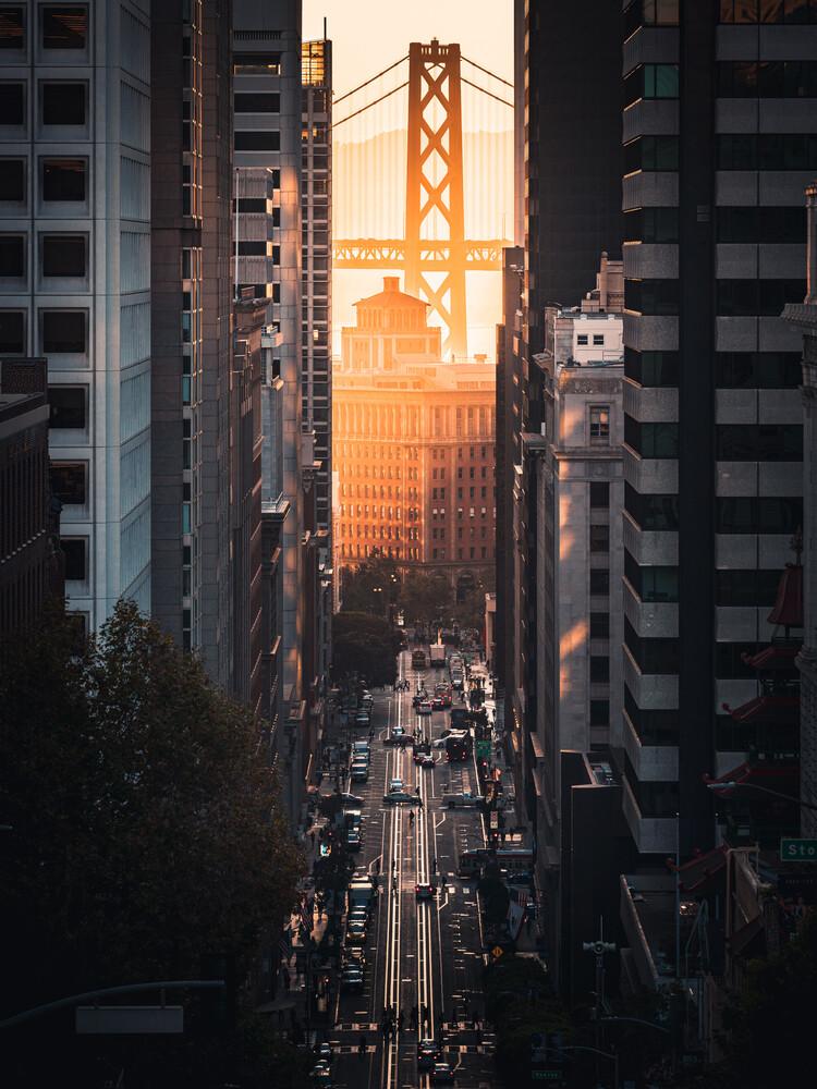 sunrise glow - fotokunst von Dimitri Luft
