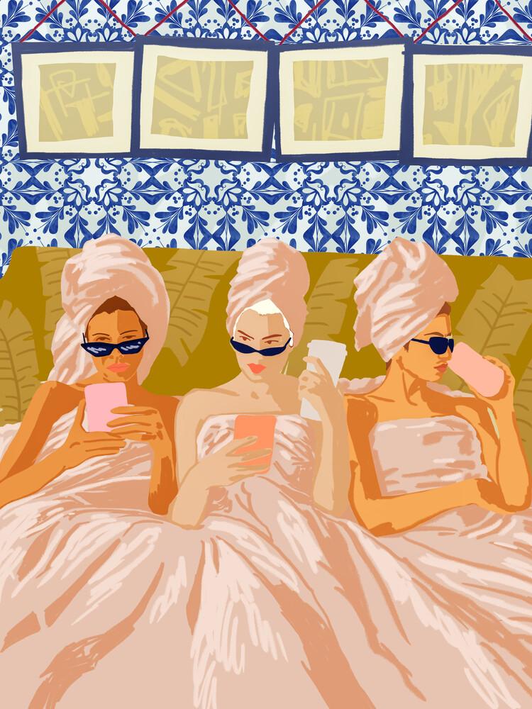 Ladies-Only Club - fotokunst von Uma Gokhale