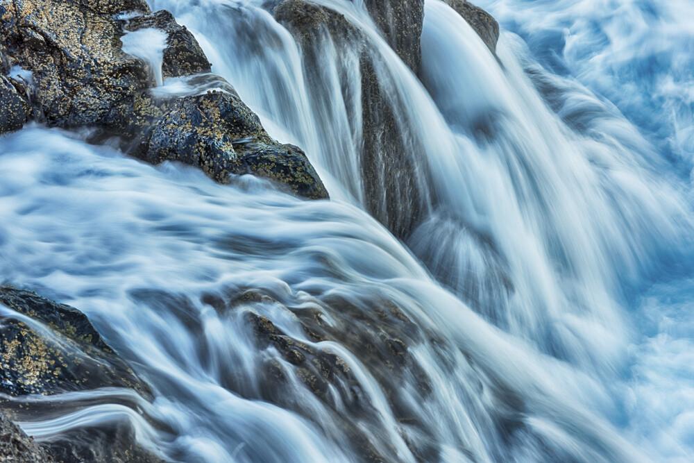 Blue motion - fotokunst von Rolf Schnepp