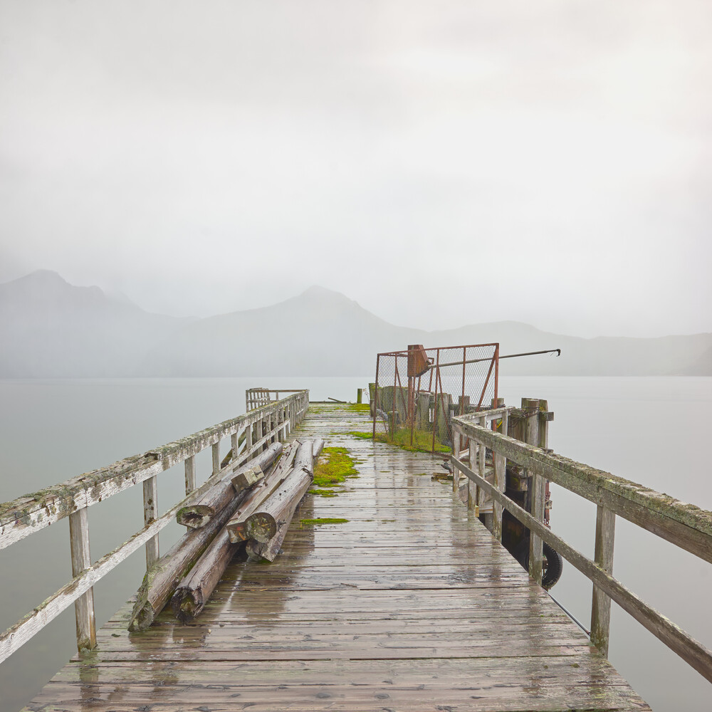 The Forgotten Pier - Fineart photography by Lars Almeroth