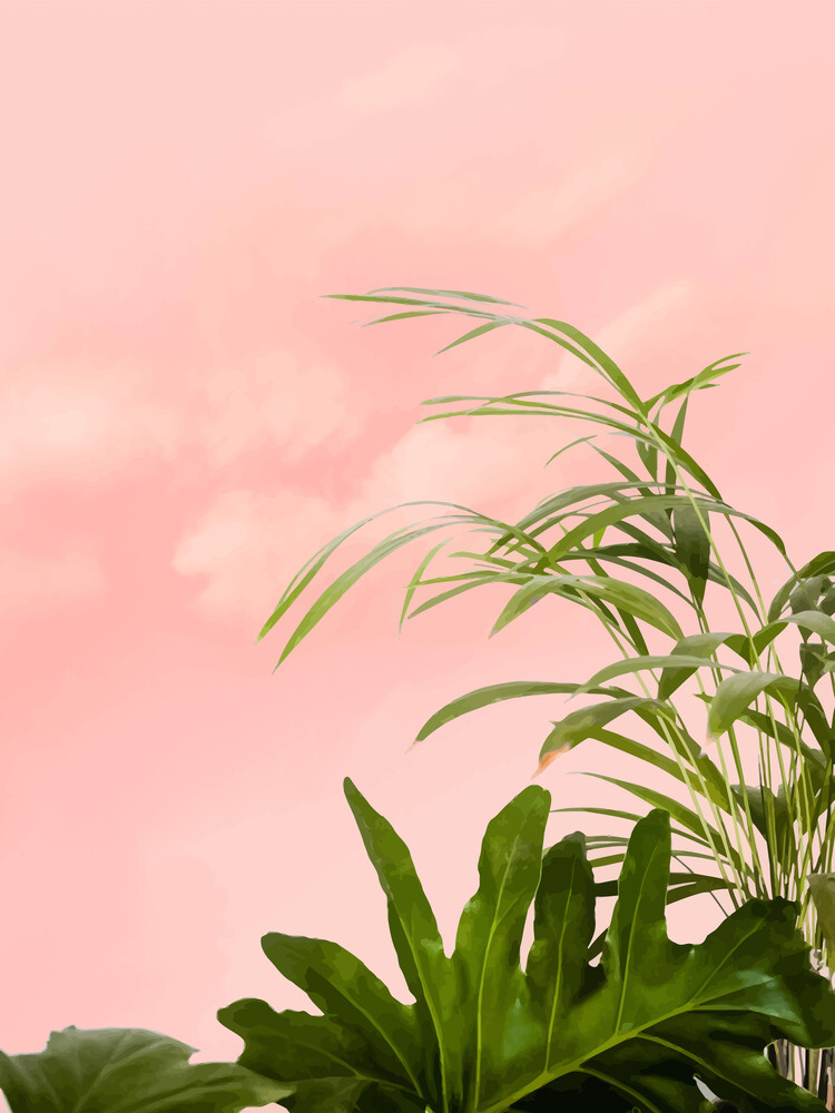 Minimal Botanical - fotokunst von Uma Gokhale