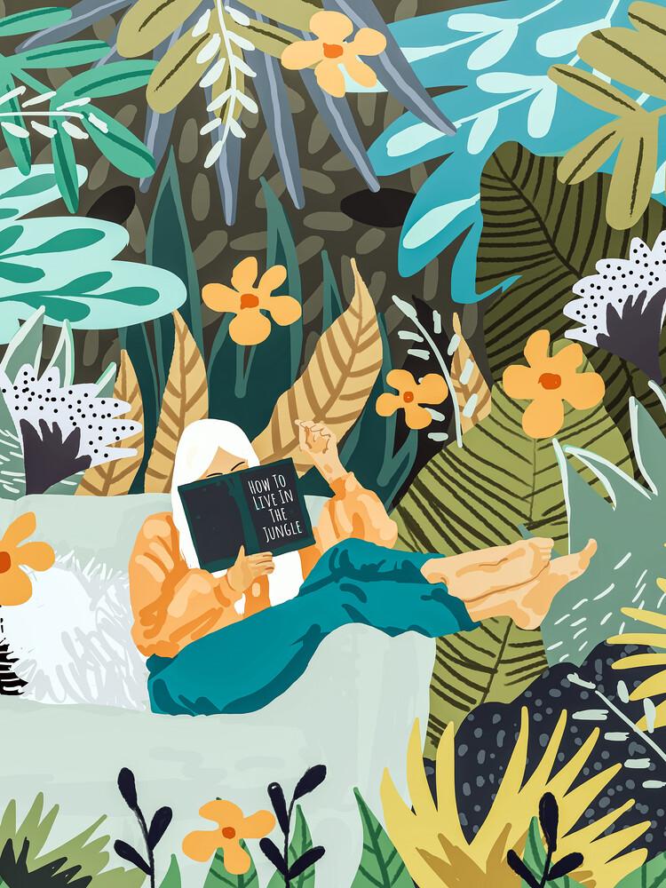 How To Live In The Jungle - fotokunst von Uma Gokhale