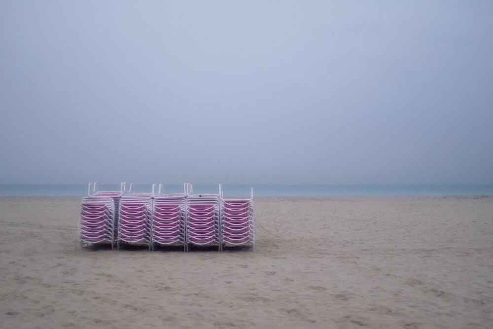 Miami South Beach Study 4 - fotokunst von Jeff Seltzer