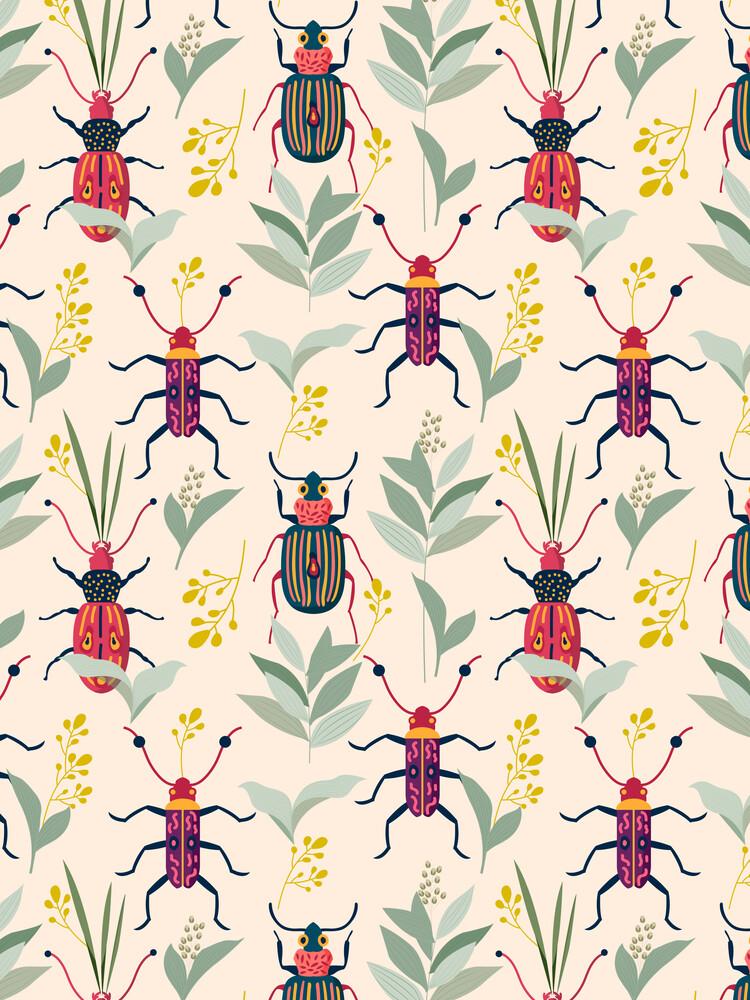 Summer Bugs - fotokunst von Uma Gokhale