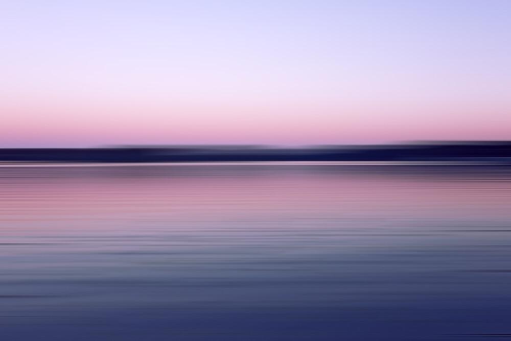 am See - fotokunst von Alexander Barth