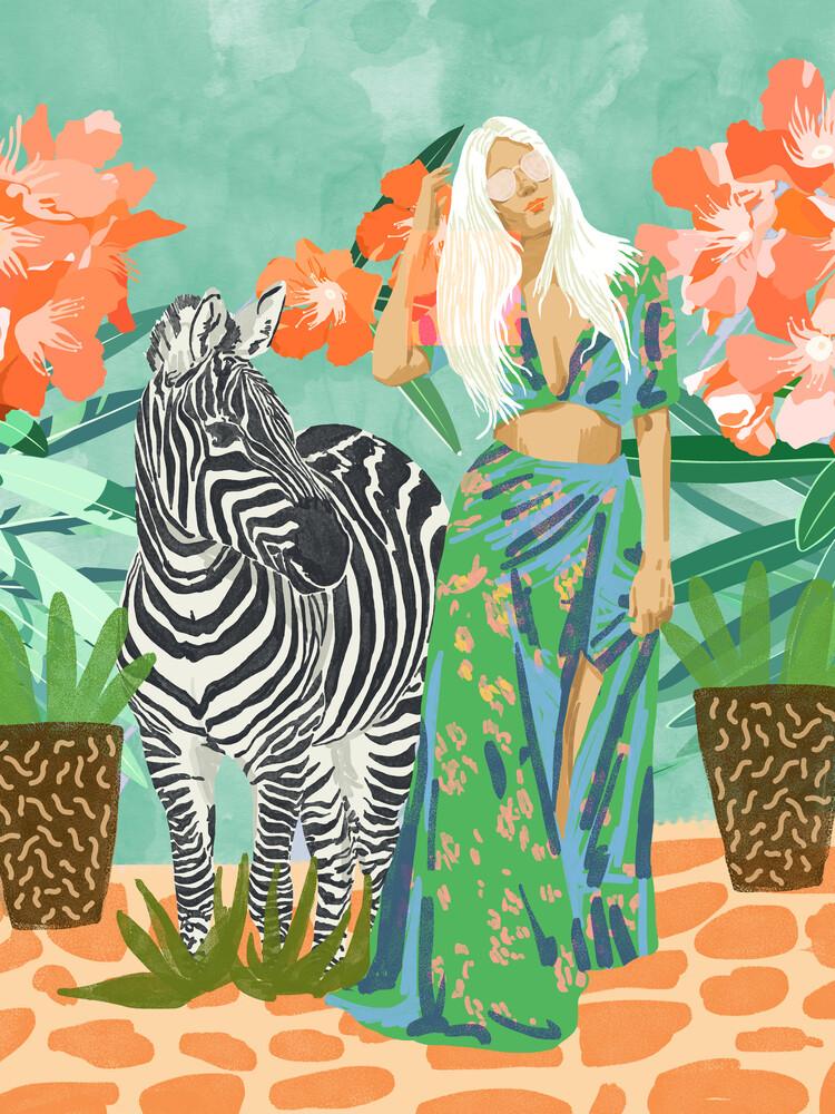 Never Change Your Stripes - fotokunst von Uma Gokhale