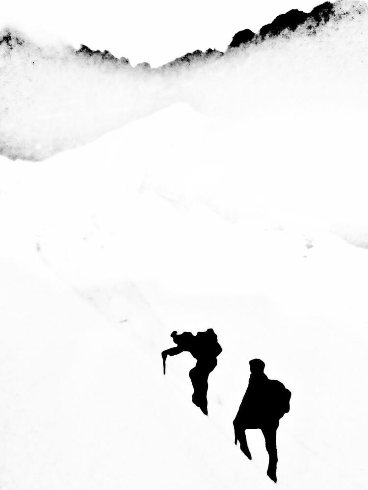 Bergsteiger - fotokunst von Sascha Hoffmann-Wacker