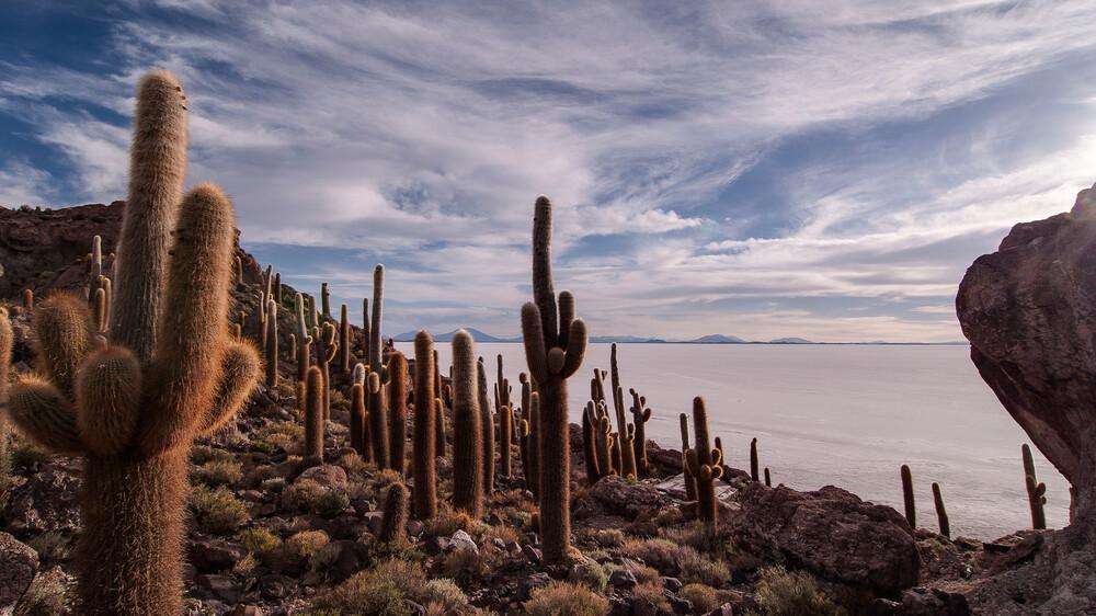 Salar de Uyuni - fotokunst von Mathias Becker