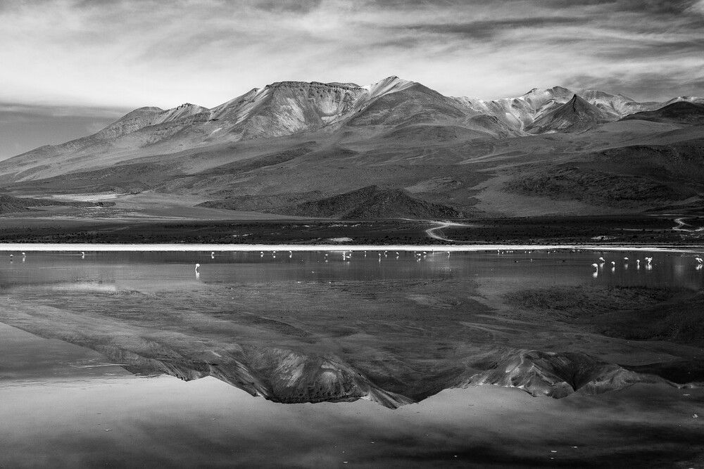 Laguna Hedionda BW - Fineart photography by Mathias Becker