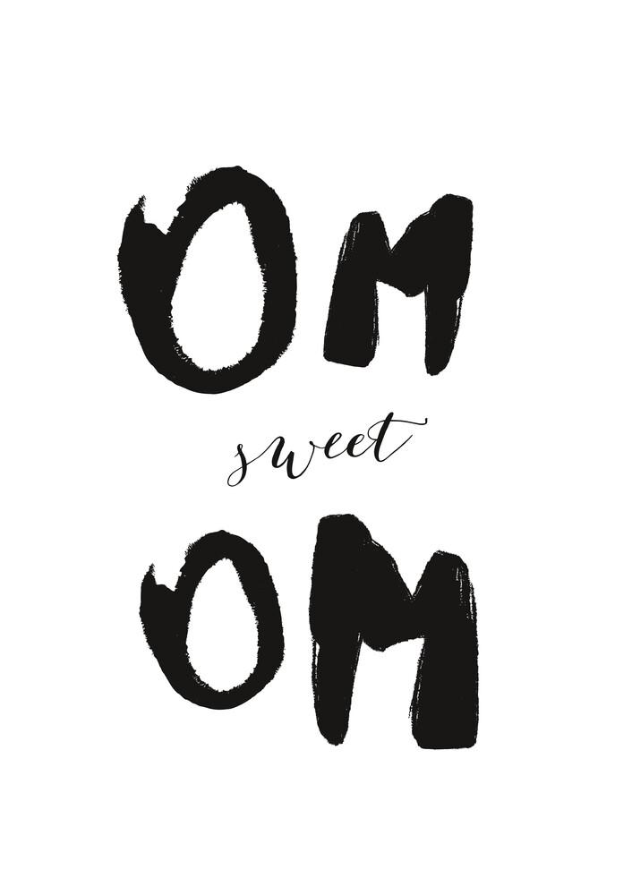 Om sweet om - fotokunst von Christina Ernst