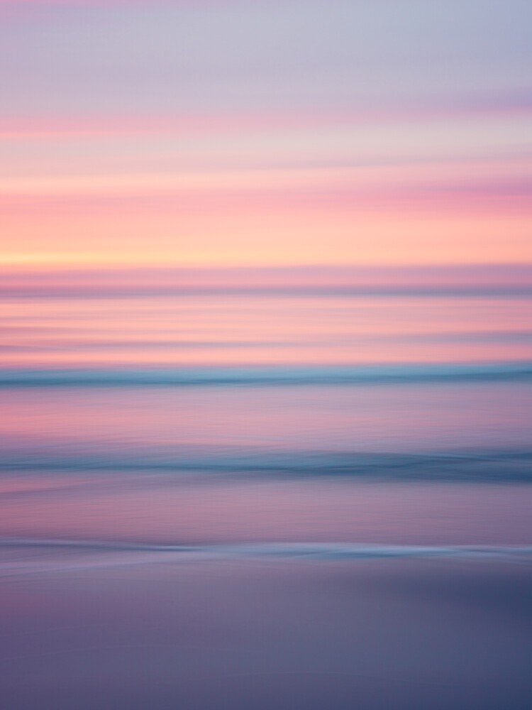 beautiful sunset - fotokunst von Holger Nimtz