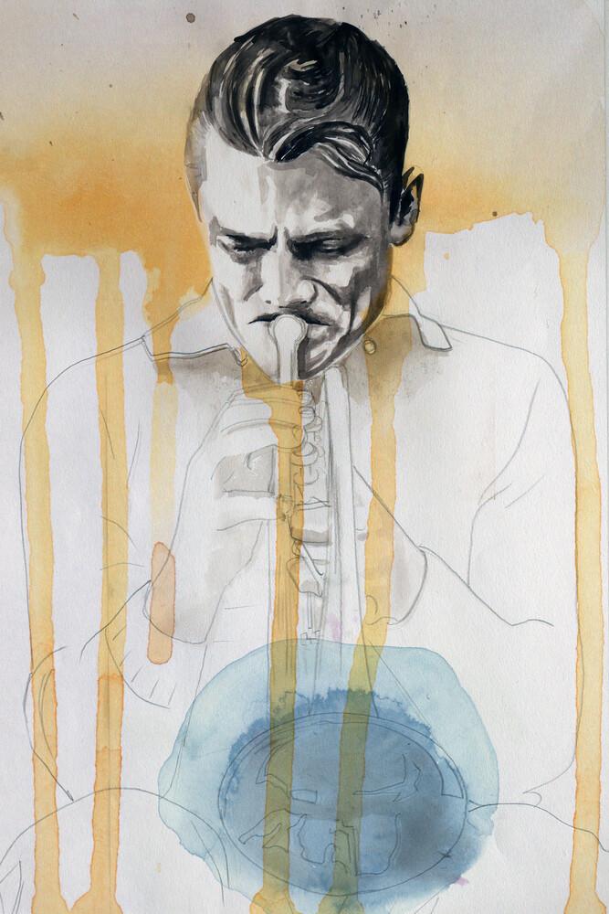 Chet Baker - fotokunst von David Diehl