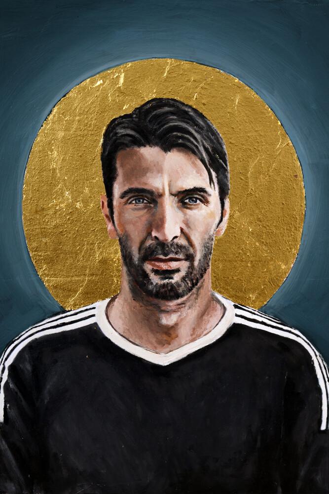 Gigi Buffon - fotokunst von David Diehl