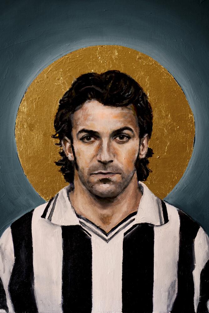 Alessandro Del Piero - fotokunst von David Diehl