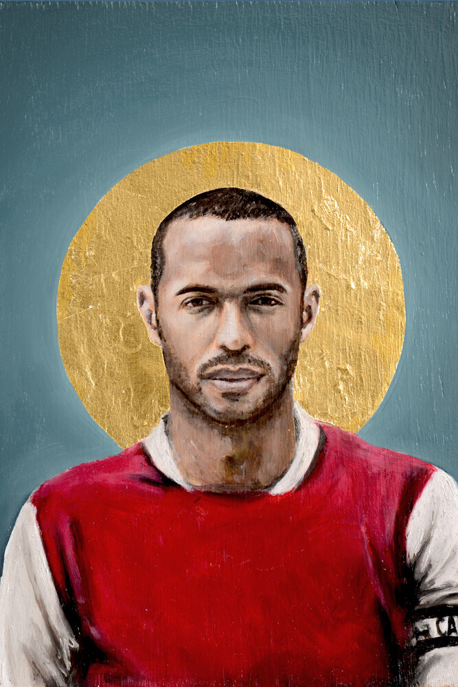 Thierry Henry - Fineart photography by David Diehl