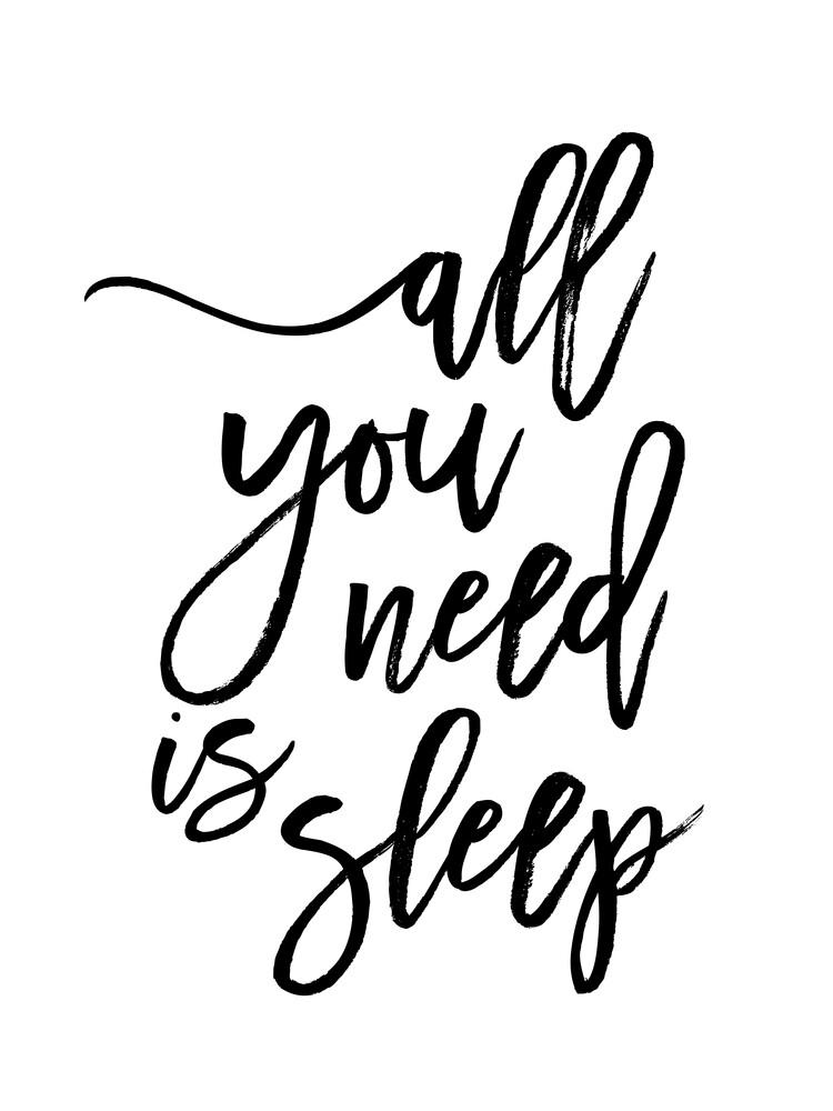 All You Need is Sleep - fotokunst von Vivid Atelier