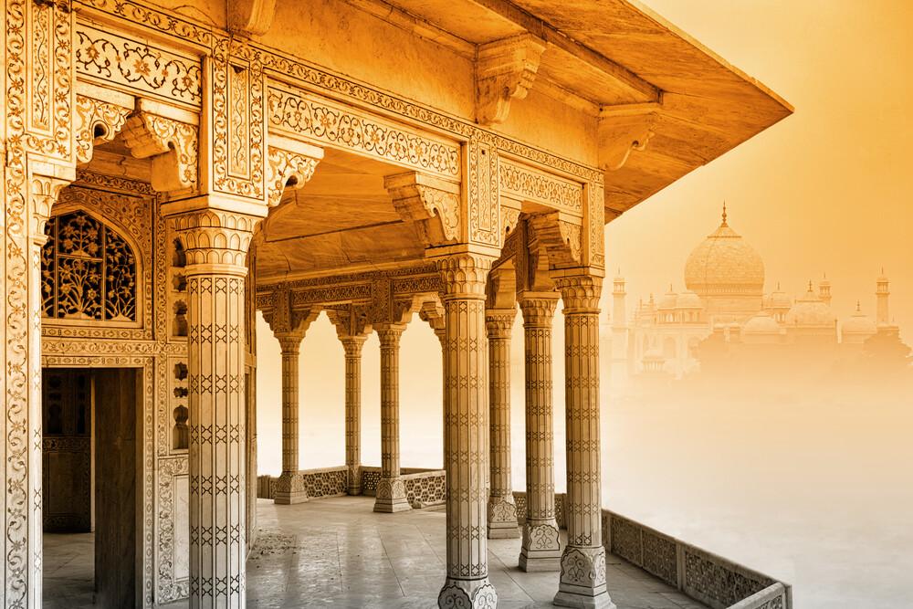 Taj Mahal - Fineart photography by Thomas Herzog