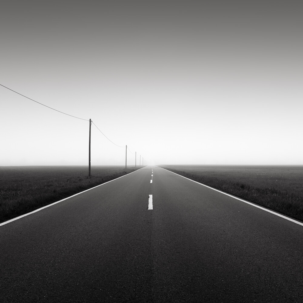 Road to nowhere 3 - Fineart photography by Thomas Wegner