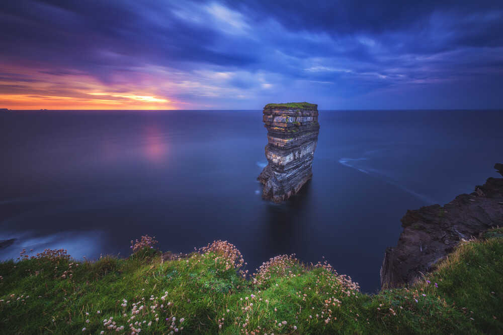 Downpatrick Head  - fotokunst von Jean Claude Castor