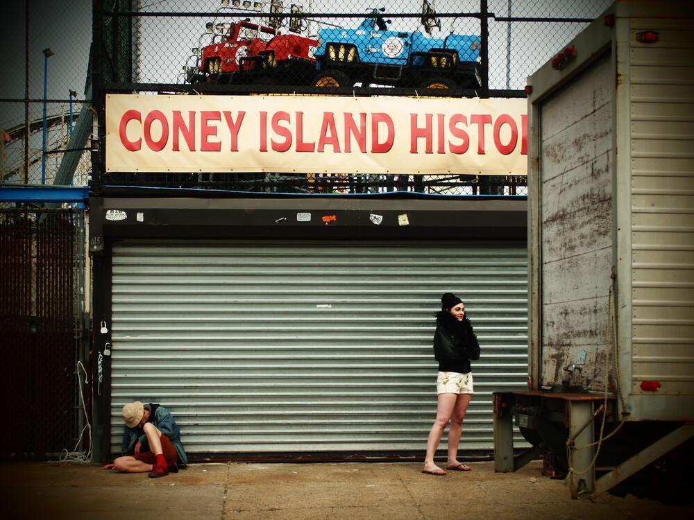 Coney Island - fotokunst von Kay Block