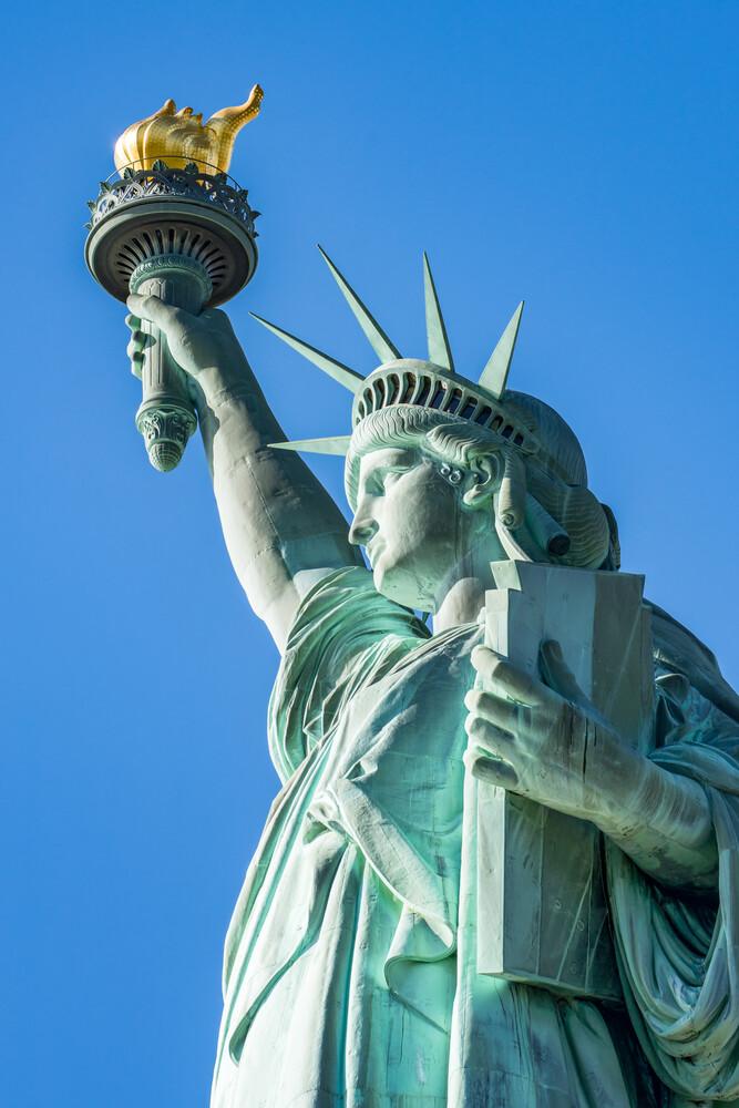 Freiheitsstatue - fotokunst von Jan Becke