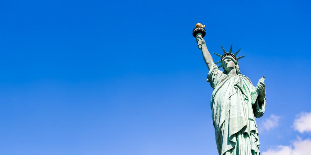 Freiheitsstatue in New York City - fotokunst von Jan Becke
