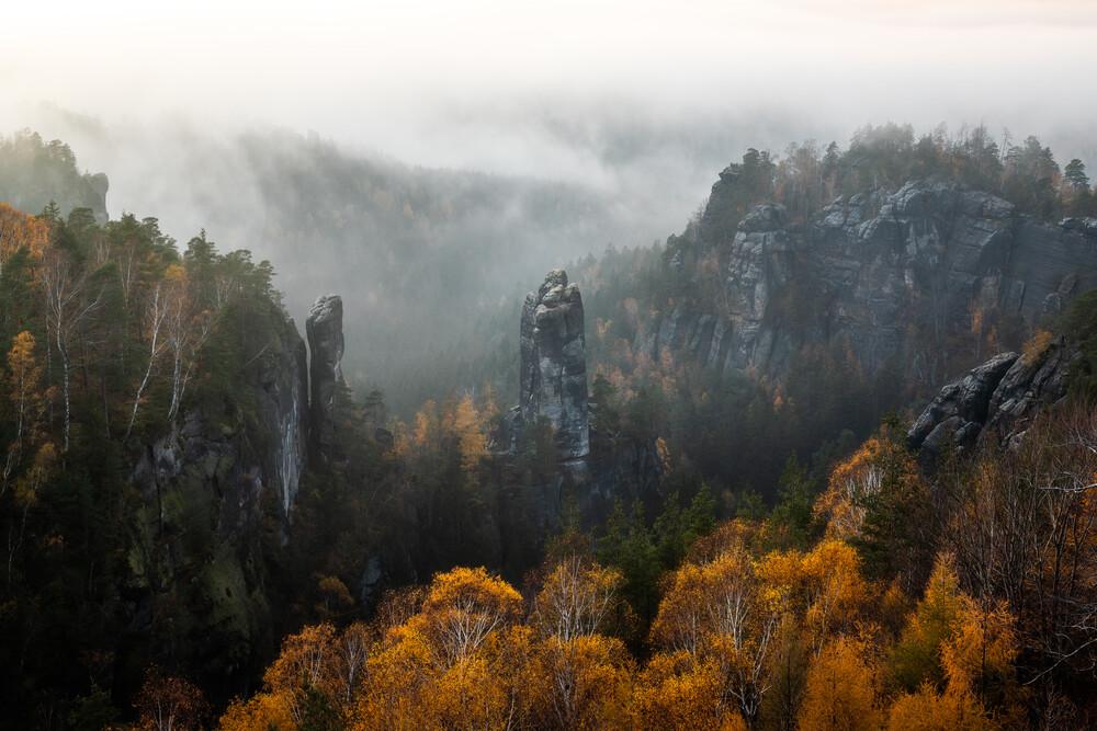 the rock - Fineart photography by Christoph Schaarschmidt