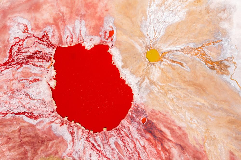Bleeding planet - fotokunst von Felix Dorn