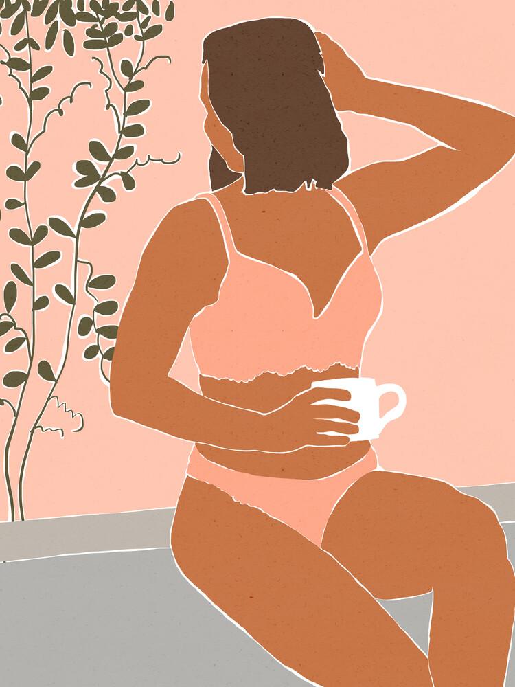 Morning Coffee - fotokunst von Uma Gokhale