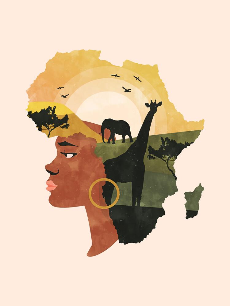 Africa Love - fotokunst von Uma Gokhale