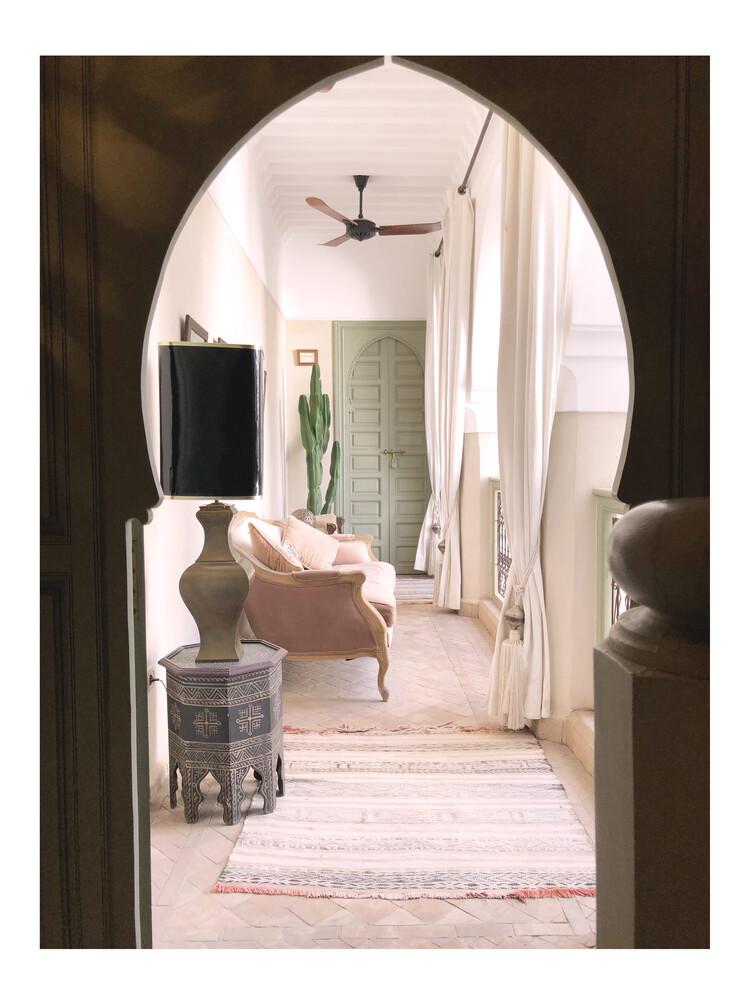 Mantika Marokko Riad - fotokunst von Christina Wolff