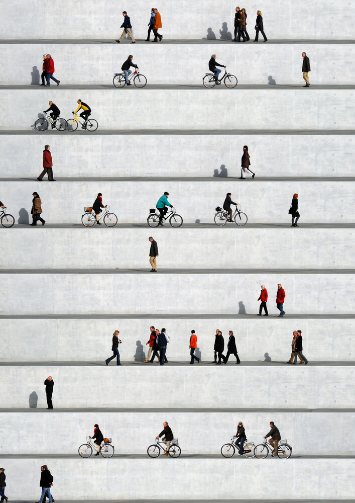Wall People Detail 17 - Fineart photography by Eka Sharashidze