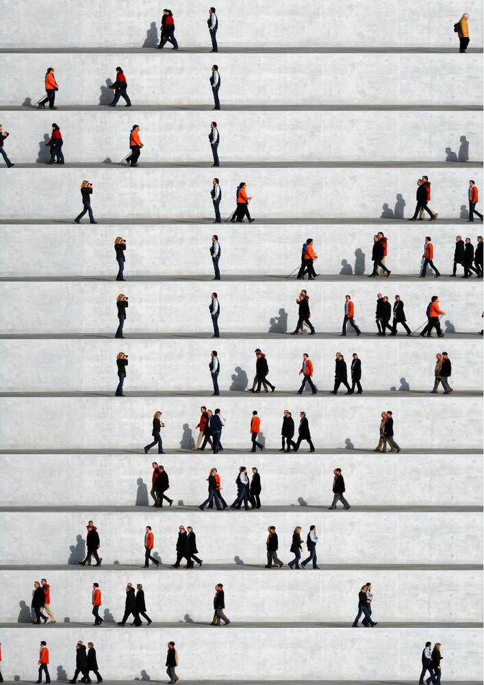 Wall People Detail 25 - Fineart photography by Eka Sharashidze