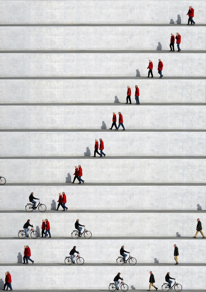 Wall People Detail 20  - fotokunst von Eka Sharashidze