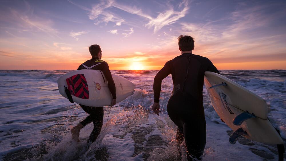 Surfabenteuer - fotokunst von Philipp Behncke
