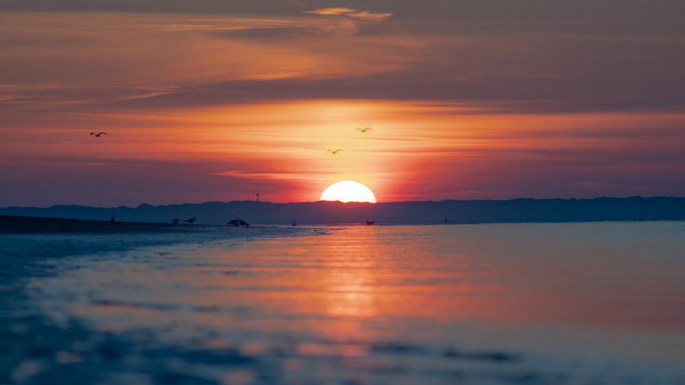 Das letzte Sonnenlicht - fotokunst von Philipp Behncke